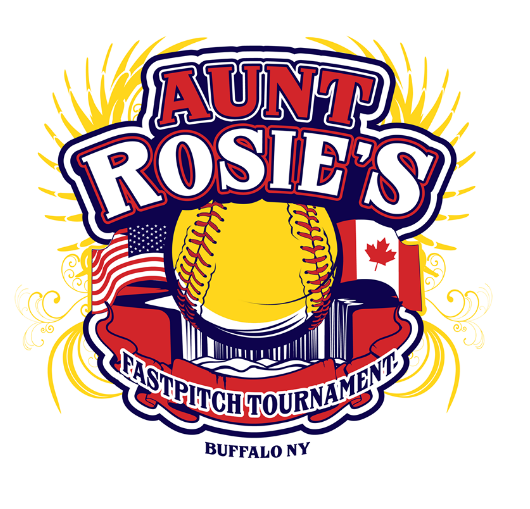Image result for aunt rosies 2017 softball logo